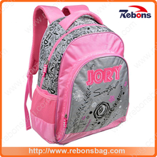 Best High Quality Fashion Durable Flower Embosss Leisure School Backpack School Bags