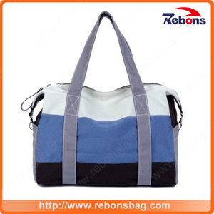 Hot Sale Striped Storage Travel Bag Duffle Bag