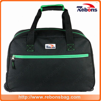 Hot Selling Canvas Trolley Wheeled Roller Sports Travel Bag