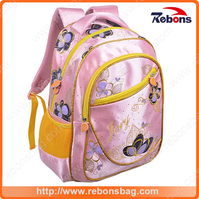 New Arrival Hot Sell Waterproof Embroidery Nylon Travel Backapack School Bags