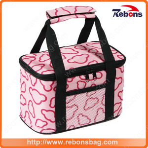 Cartoon Allover Printed Large Lunch Bag for Picnic