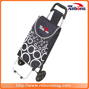 Convenience Handy Kids Metal Shopping Carts with Allover Pattern