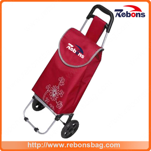 Supermarket Folding Shopping Carts Electric Shopping Carts Shopping Bag with Trolley