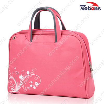 Designer Ladies Pink Laptop Brief Bags for Office Business Documents