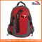 Good Quality Stylish Cotton Contrast Color Compartments Backpack with Two Mesh Side Pockets