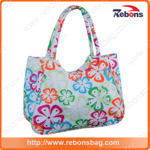 Fashion Cute Canvas Hand Bag Tote Beach Bags for Girls Ladies