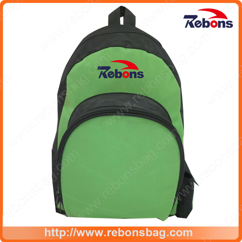 Wholesale Multicolor Zippers Schoolbag Backpack with Customized Logo