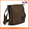 Hot Selling Rugged Trimmings Canvas Portfolio Men Blank Large Heavy Shoulder Messenger Bag