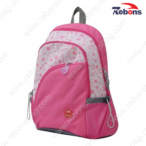 Pink Girls Beautiful Backpacks for School, Sports, Hking, Traveling