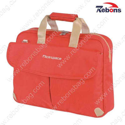 Women′s Red Office Bag Business Briefcase Laptop Bag