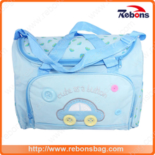New Design Large Capacity Polyester Diaper Bag Baby Stroller Yummy Mummy Bag