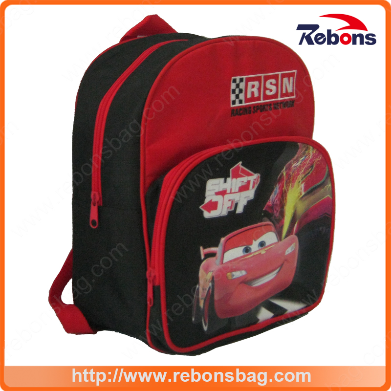 Hot Selling Fabric Outdoor Cartoon Student School Bags Sports Backpack for Pupils