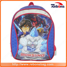 Academy Style School Book Bags with Cartoon Pattern