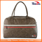 PU Craft Duffel Designer Leather Spotrs Travel Bag for Men